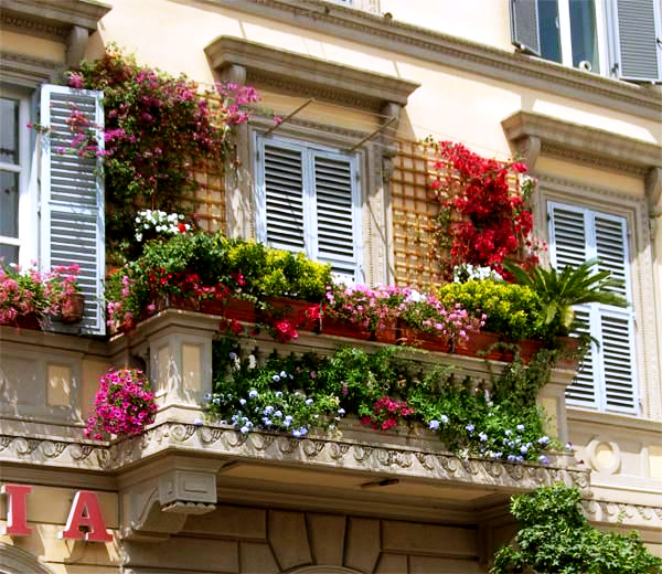 en guzel balkon dekorasyonlari