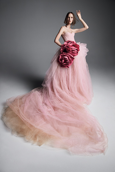 2019 Renkli Gelinlik Modelleri